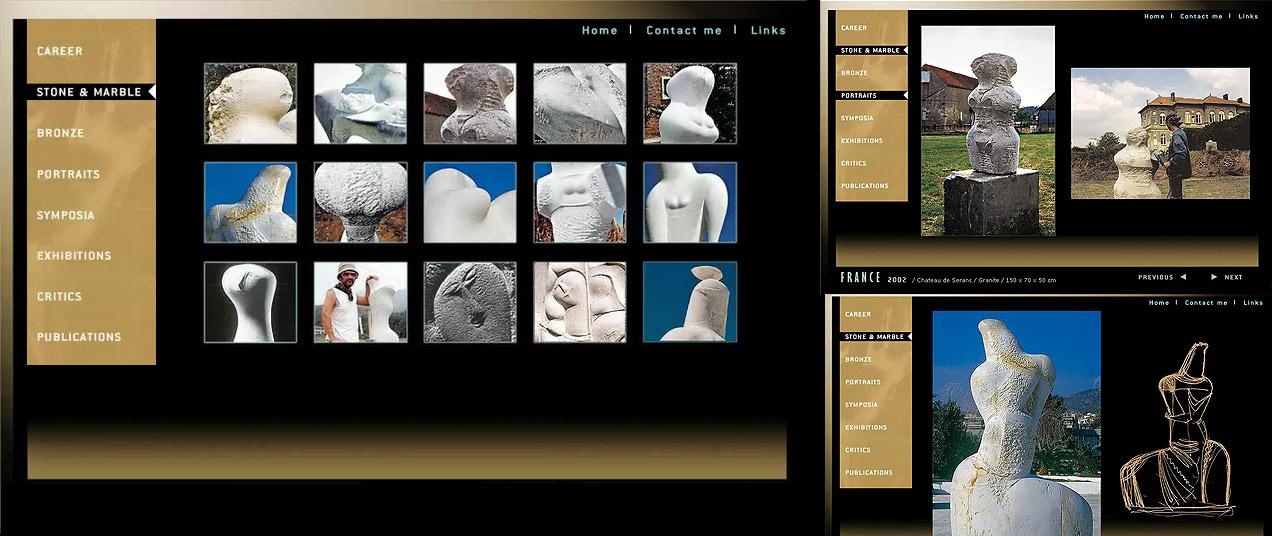 vcd+a, GUI-, Navigationselemente, gelaskessidis.com