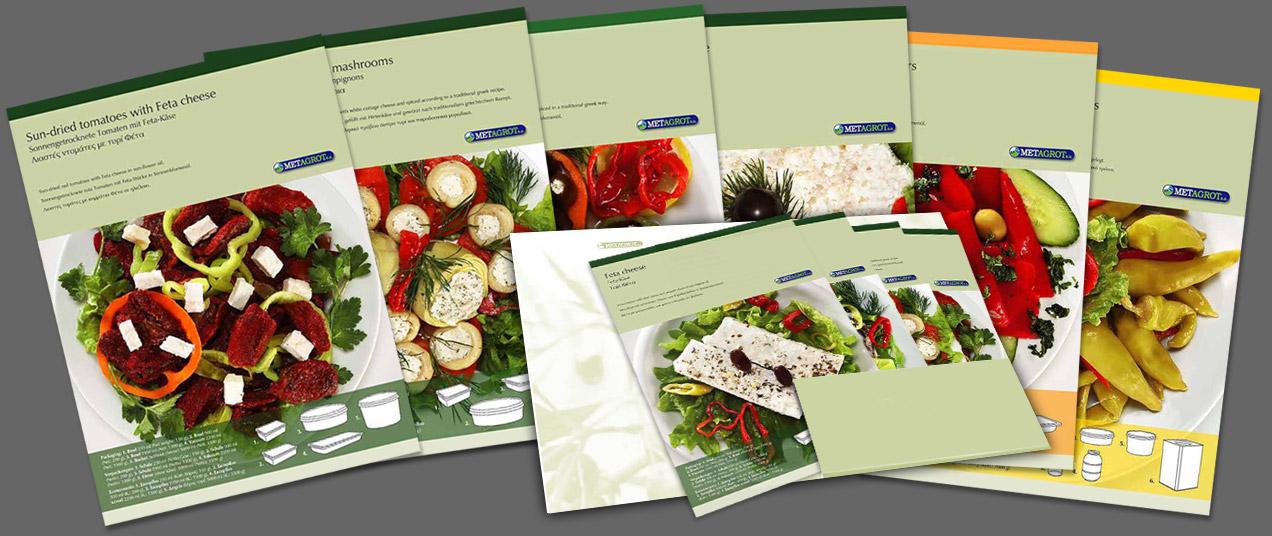 vcd+a, A4-product cards / Produktkarten